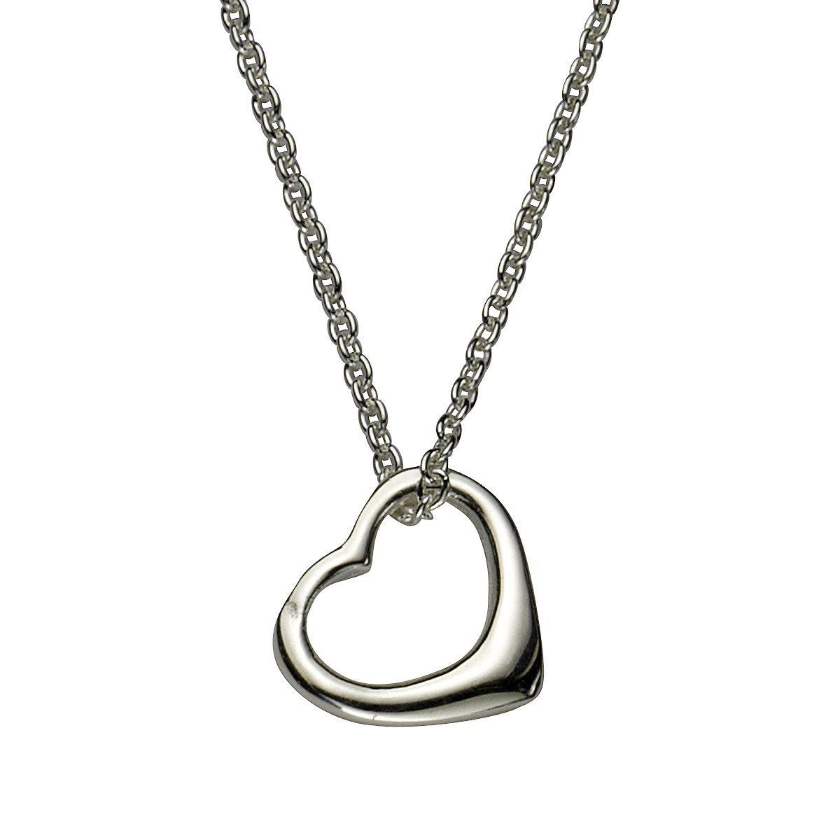 Zeeme Anhänger mit Kette »925/- Sterling Silber Herz«
