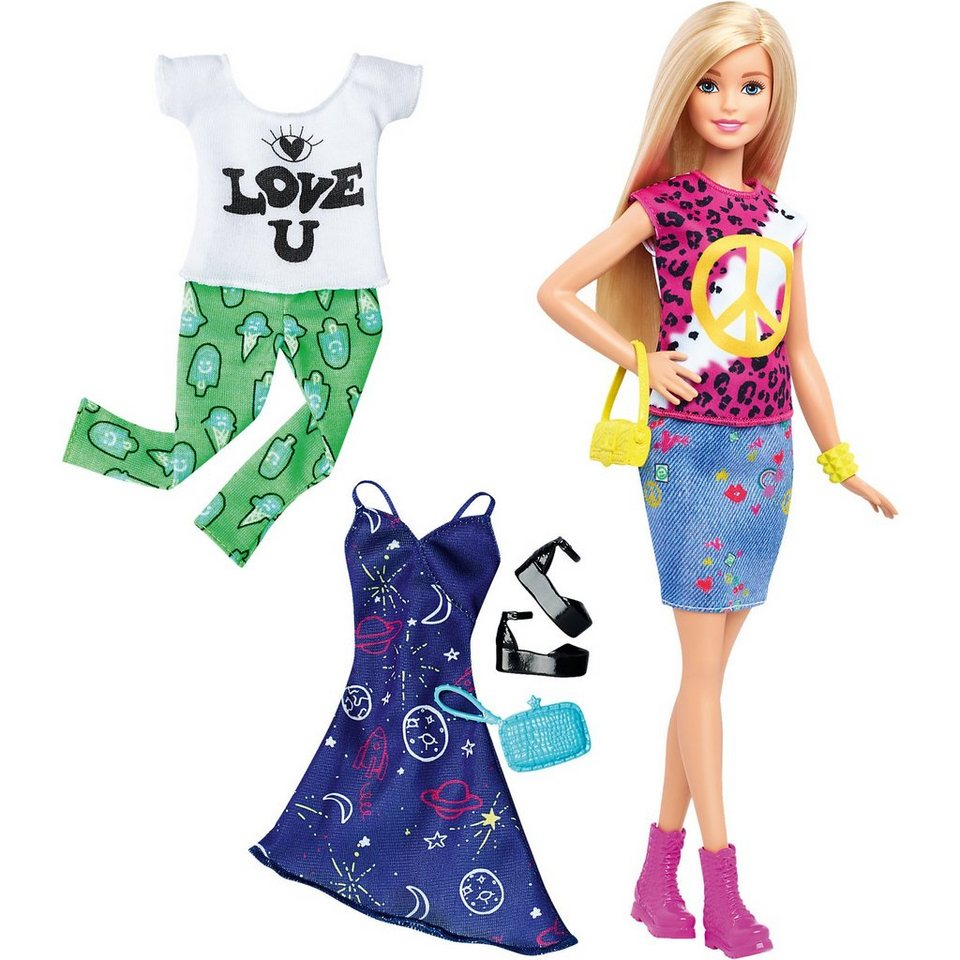 Mattel® Barbie Fashionistas Style Puppe und Moden Peace & Love online kaufen
