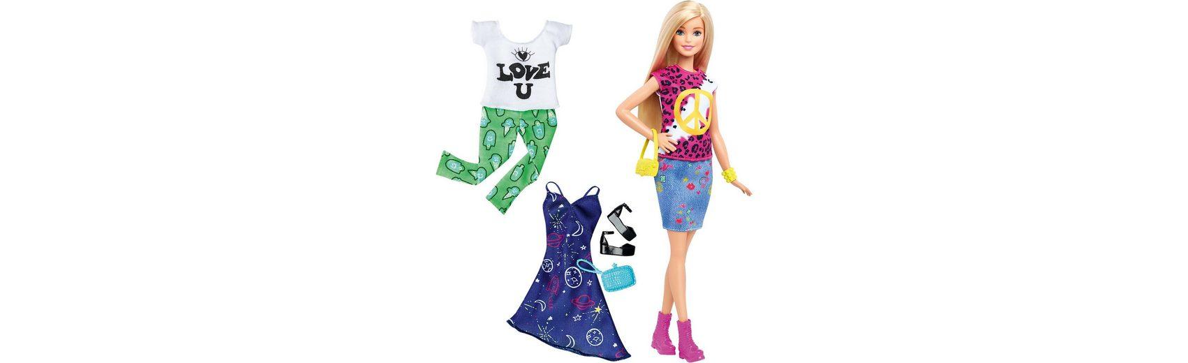 Mattel Barbie Fashionistas Style Puppe und Moden Peace & Love
