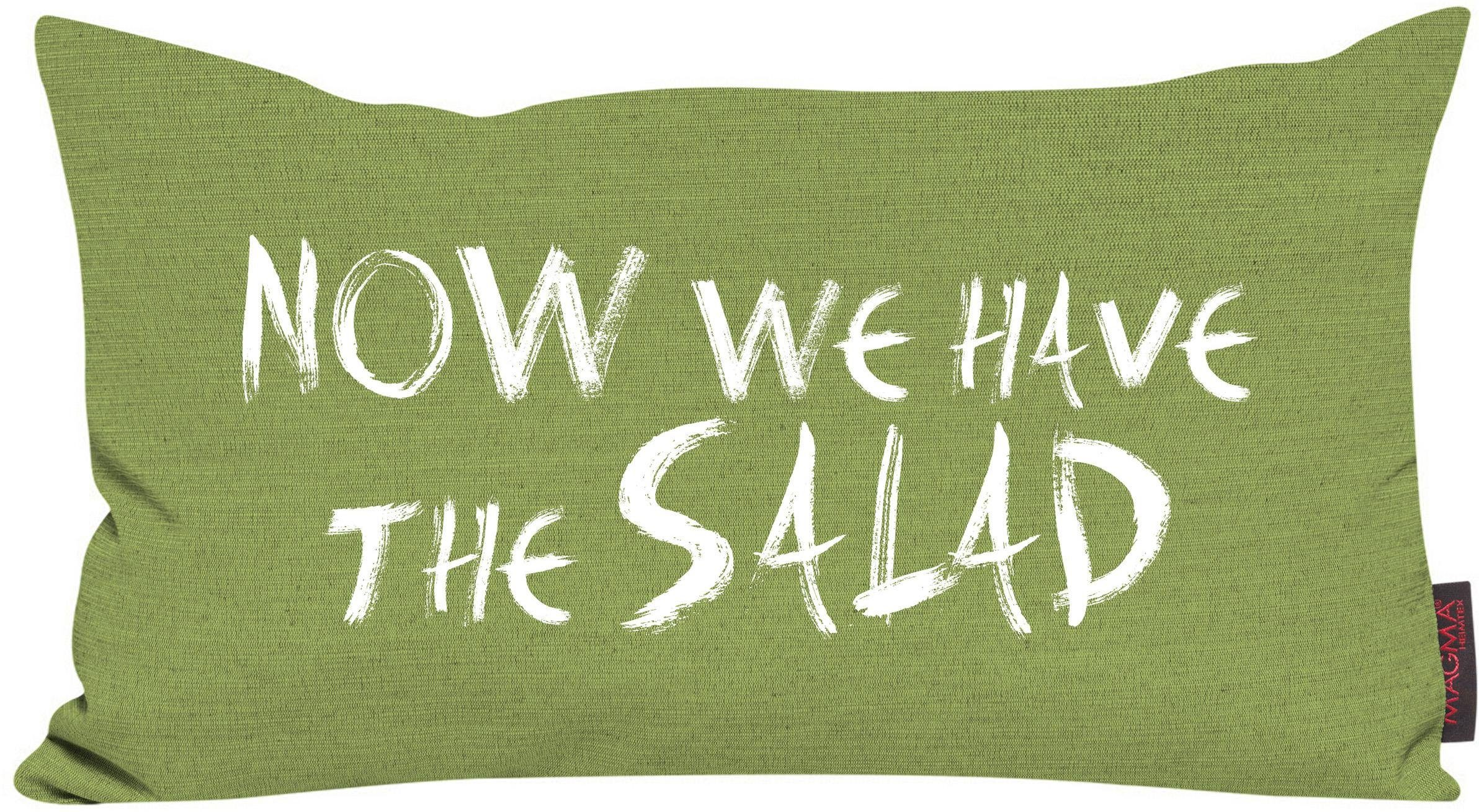 Dekokissen, Magma, »Now we have the salad«, meliert