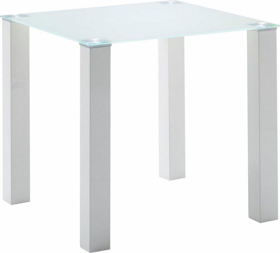Esstisch, Breite 80 cm in weiß