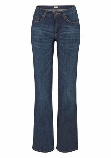 Cheer 5-Pocket-Jeans Beate, mit angedeuteten Sitzfalten