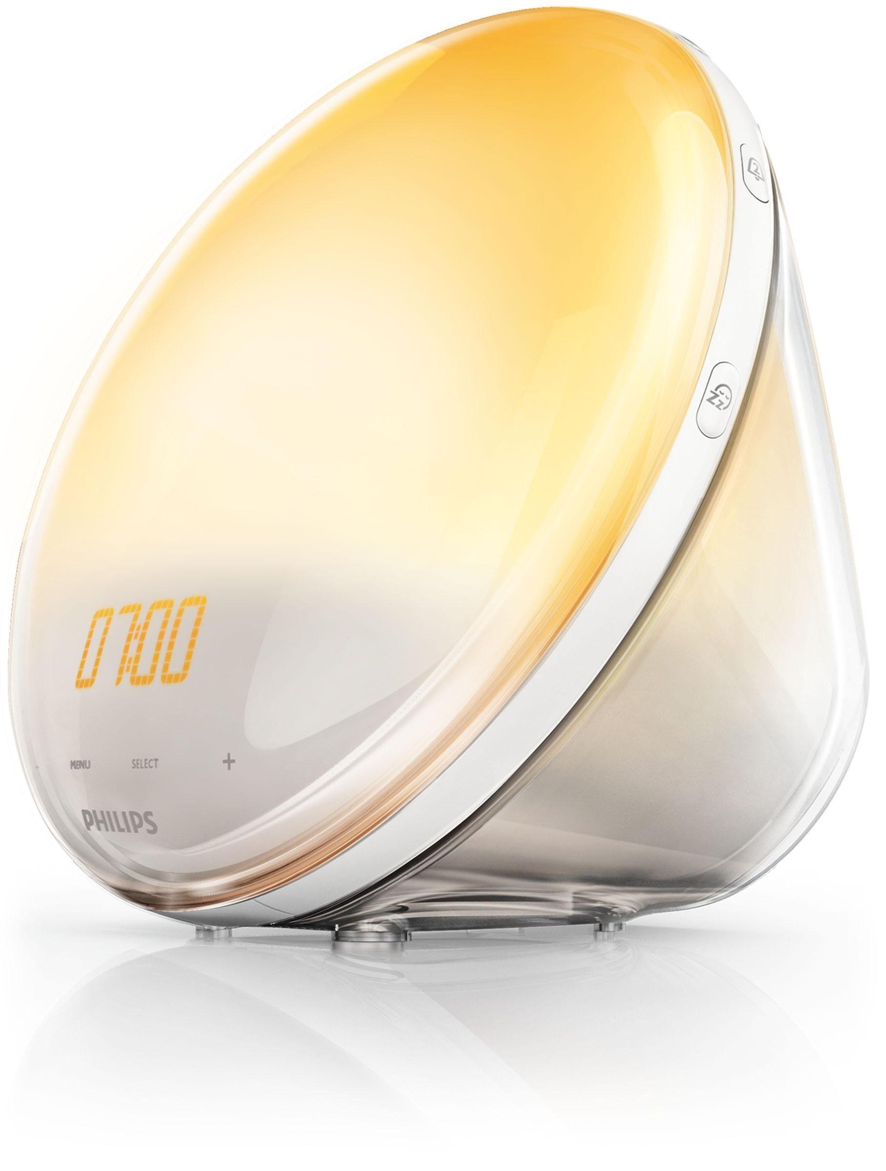 Philips Wake Up Light HF3531/01, für noch natürlicheres Aufwachen