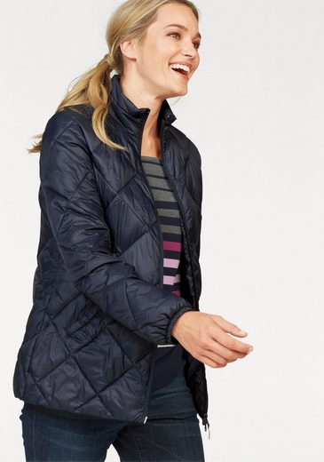 Cheer Steppjacke, mit Rautensteppung