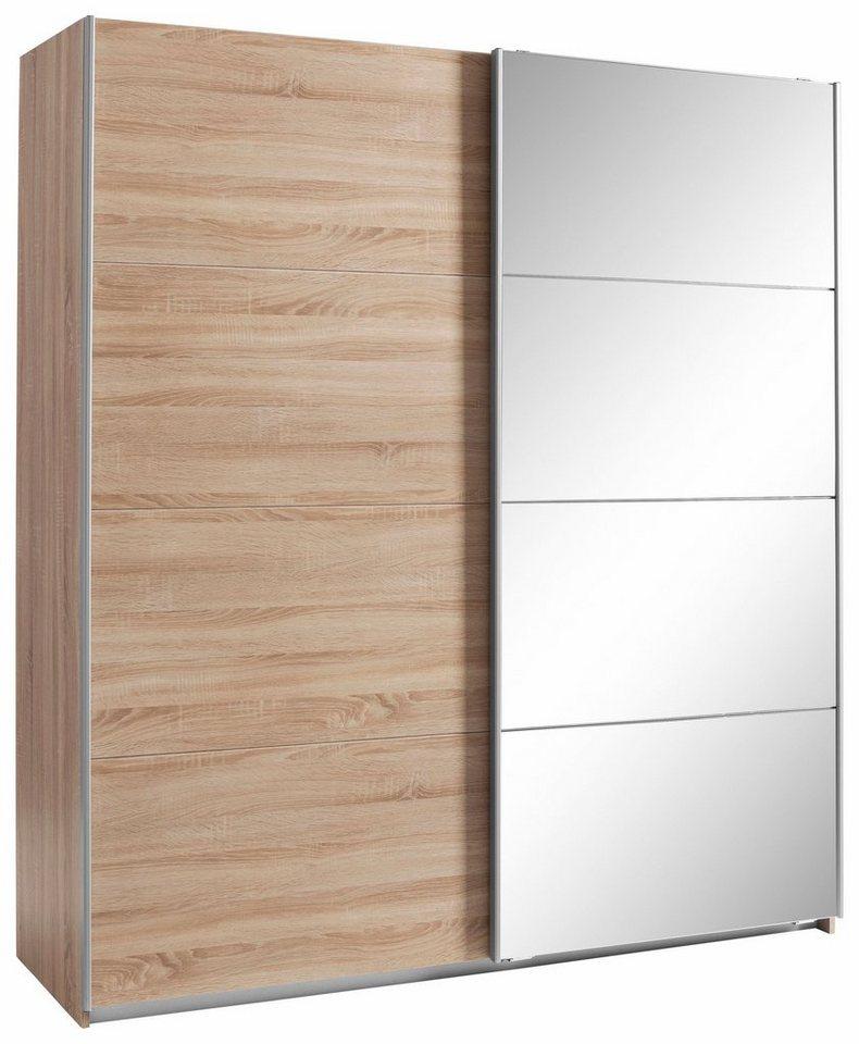rauch garderobenschrank minosa mit spiegel breite 181. Black Bedroom Furniture Sets. Home Design Ideas