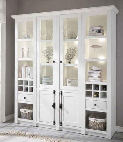 wohnzimmer vitrine, vitrinen online kaufen » hochglanz & holzoptik | otto, Design ideen