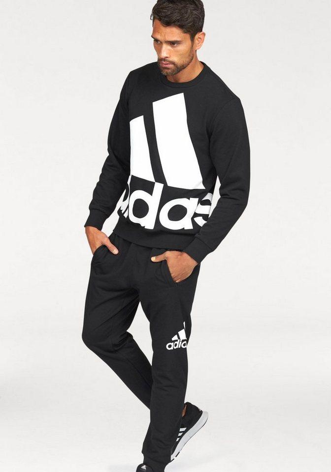 adidas performance jogginganzug logo tracksuit otto. Black Bedroom Furniture Sets. Home Design Ideas