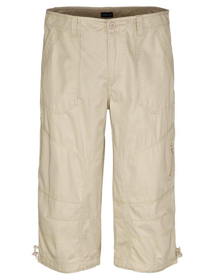 Babista Long-Bermuda mit praktischen Taschen in beige