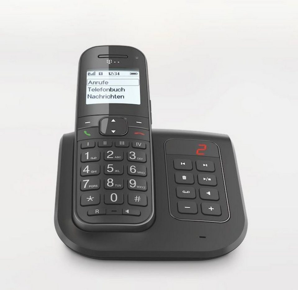 Telekom Telefon »Sinus A 206 Comfort - Großtastentelefon« in Anthrazit