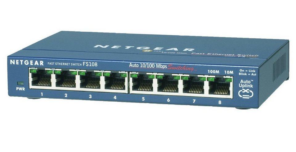 Netgear Switch »8-PORT FE SWITCH METAL«