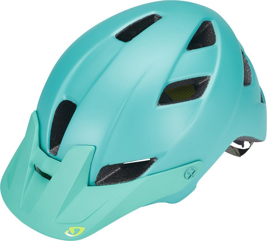 Giro Fahrradhelm »Feather Helmet Women« in türkis