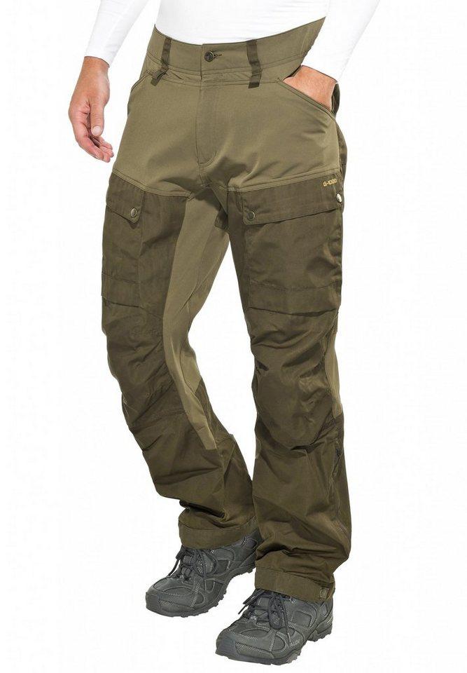 Fjällräven Outdoorhose »Keb Trousers Men« in braun