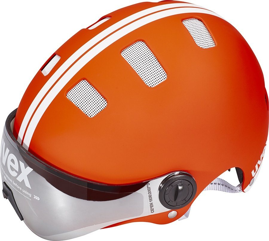 UVEX Fahrradhelm »city v Helm« in rot