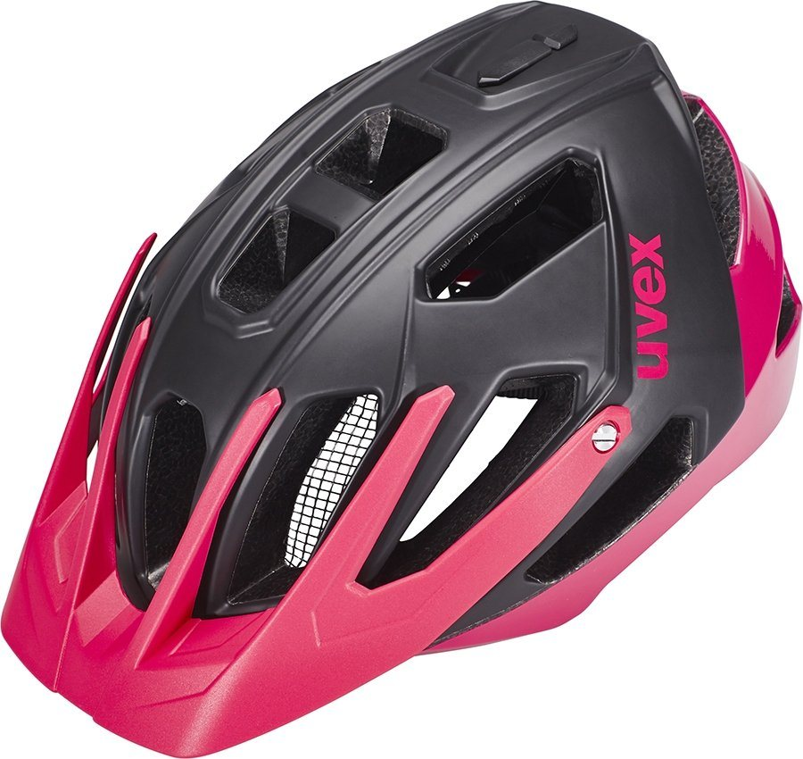 UVEX Fahrradhelm »quatro Helm Damen« in schwarz