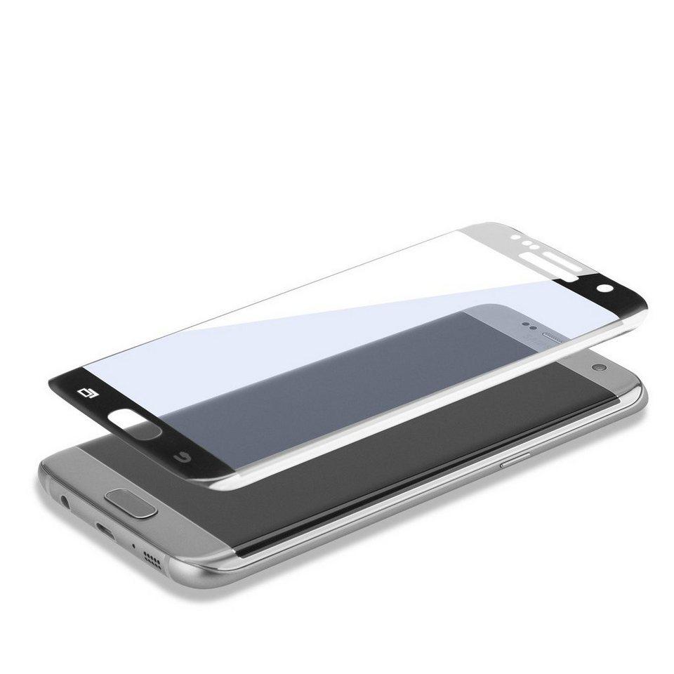 4Smarts Folie »Second Glass Curved für Samsung Galaxy S7 Edge« in Schwarz