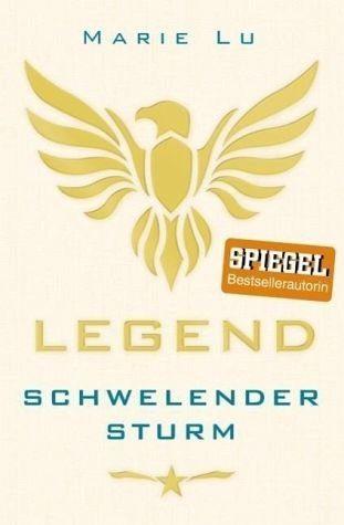 Broschiertes Buch »Schwelender Sturm / Legend Trilogie Bd.2«