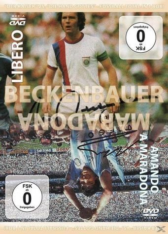 DVD »Fussball-Box: Franz Beckenbauer als Libero -...«