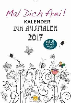 Kalender »Mal Dich frei! Kalender 2017«