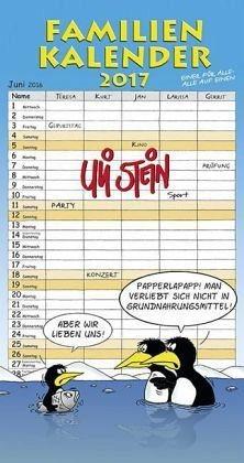 Kalender »Familienkalender 2017«