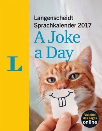Kalender »Langenscheidt Sprachkalender 2017 A Joke a Day...«