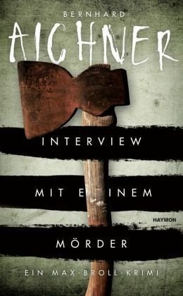 Gebundenes Buch »Interview mit einem Mörder / Max Broll Krimi Bd.4«