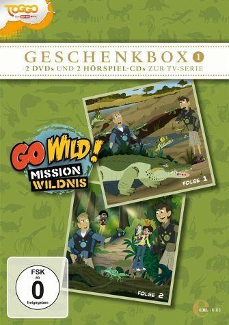 DVD »Go Wild! Mission Wildnis - Geschenkbox 1 (2...«