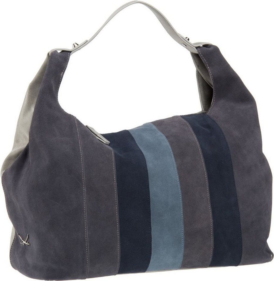 SANSIBAR Colourful 1045 Pouch in Grey