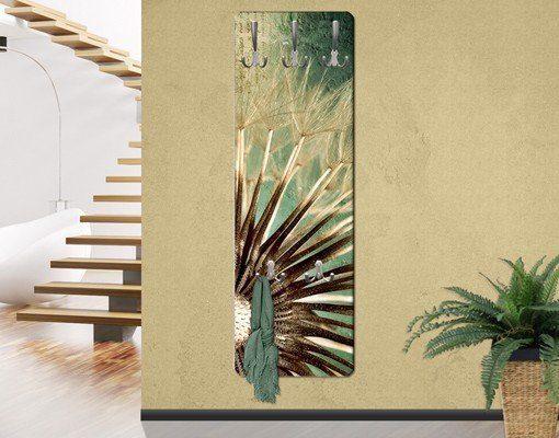 Bilderwelten Wandgarderobe Blumen 139x46x2cm »Closer Than Before«