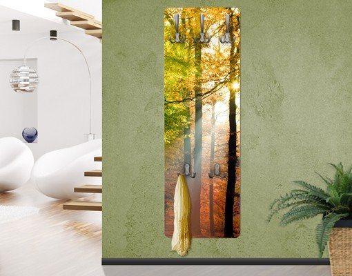 Bilderwelten Wandgarderobe 139x46x2cm »Morning Light« in Farbig