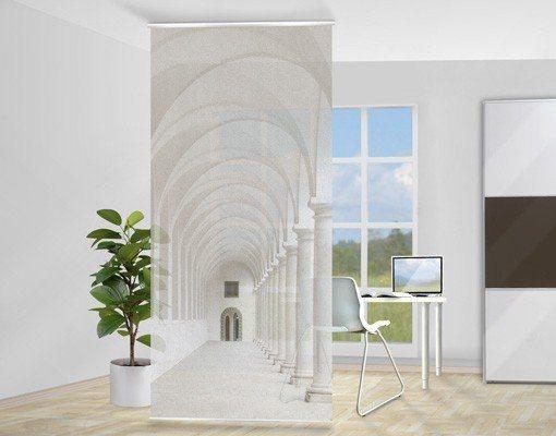 Bilderwelten Raumteiler 250x120cm »Arkaden« in Weiß