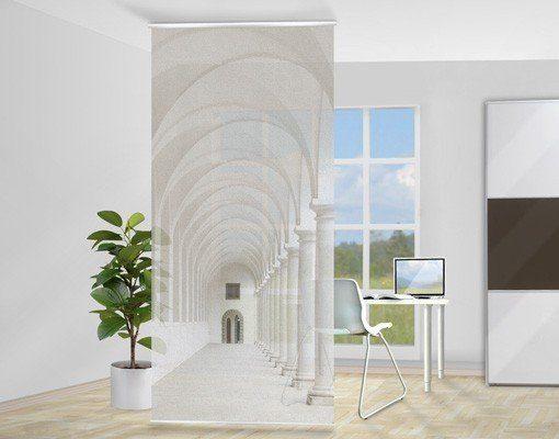 Bilderwelten Raumteiler 250x120cm »Arkaden«