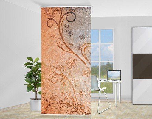 Bilderwelten Raumteiler 250x120cm »Dignity« in Orange