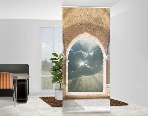 Bilderwelten Raumteiler 250x120cm »Himmelspforte« in Farbig