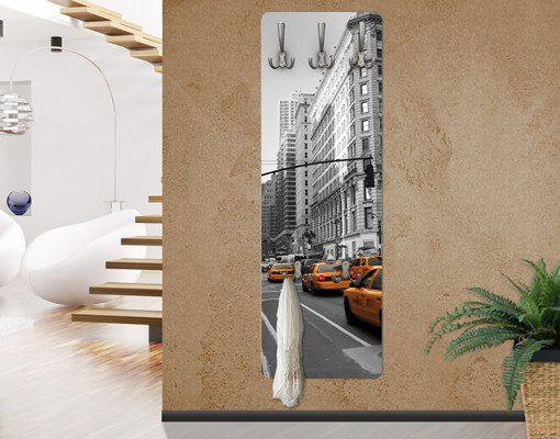 Bilderwelten Wandgarderobe 139x46x2cm »New York, New York!«