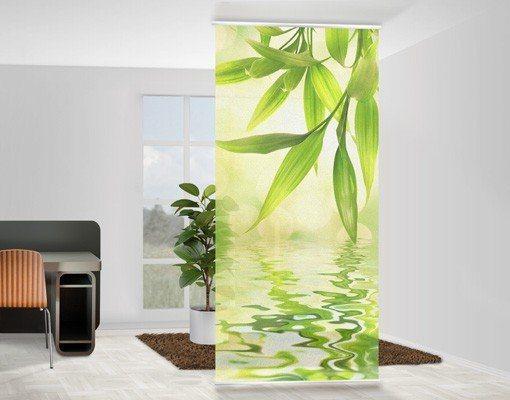 Bilderwelten Raumteiler 250x120cm »Green Ambiance I« in Grün