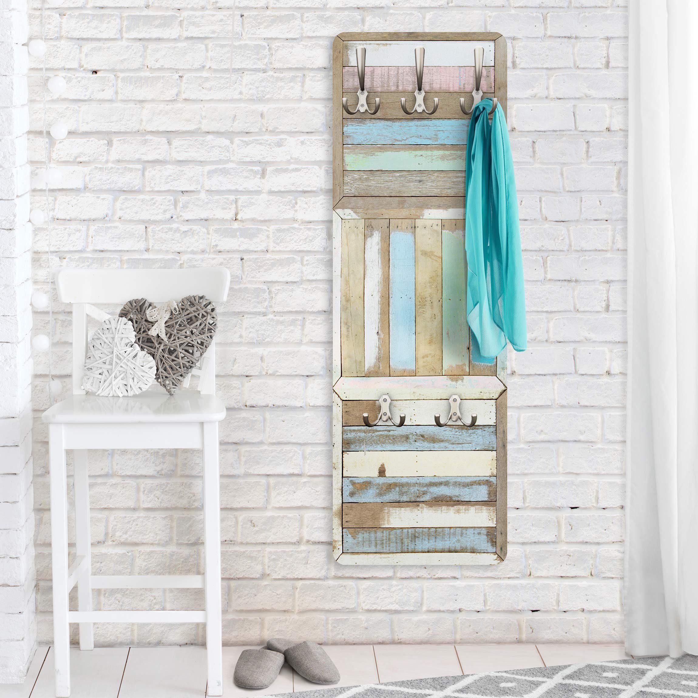 Bilderwelten Garderobe Vintage 139x46x2cm »Rustic Timber«