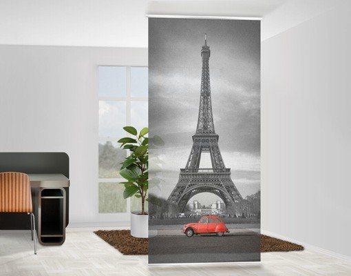 Bilderwelten Raumteiler 250x120cm »Spot on Paris« in Grau