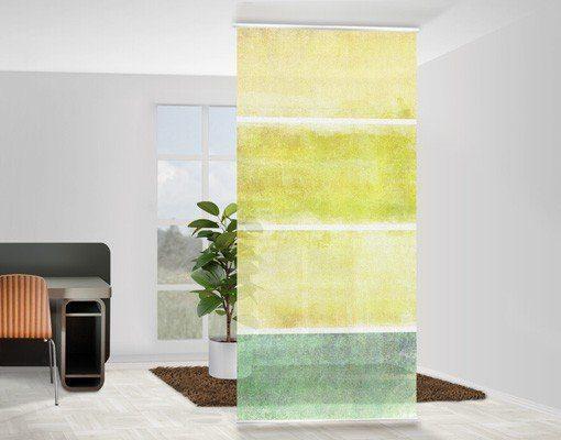 Bilderwelten Raumteiler 250x120cm »Colour Harmony Yellow«