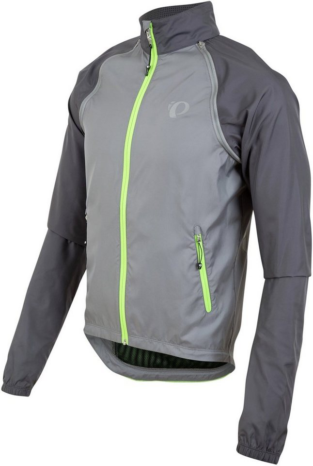 PEARL iZUMi Radjacke »ELITE Barrier Convertible Jacket Men« in grau