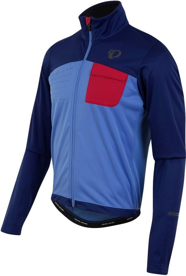 PEARL iZUMi Radjacke »SELECT Escape Softshell Jacket Men« in blau