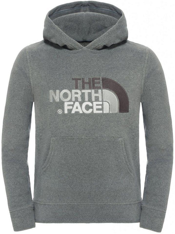 The North Face Pullover »100 Drew Peak Plv Hd Fleece Boys« in grau