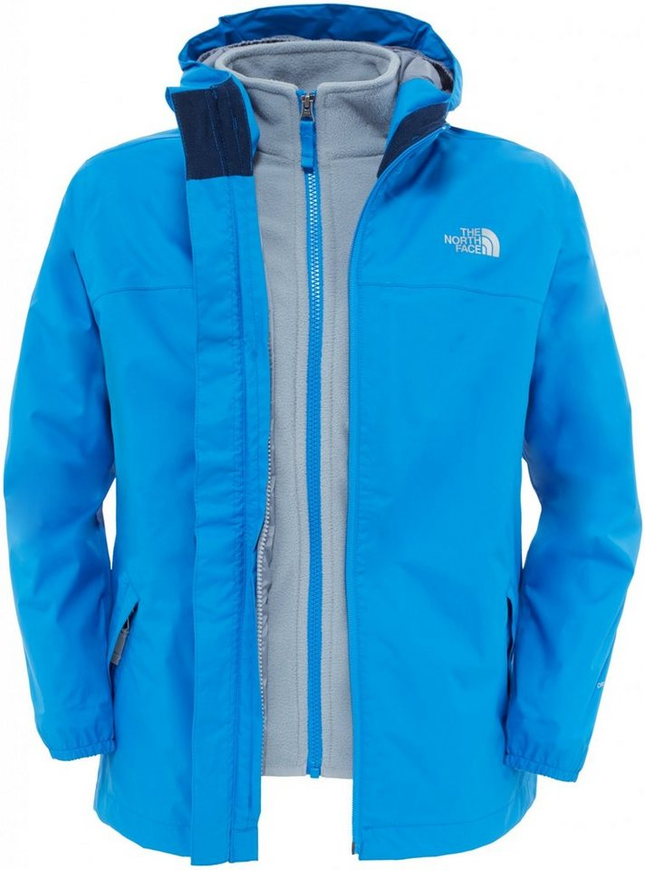 The North Face Outdoorjacke »Elden Rain Triclimate Jacket Boys« in blau
