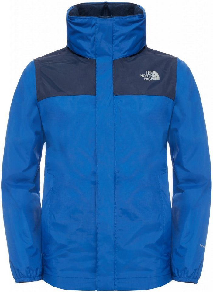 The North Face Outdoorjacke »Reflective Resolve Jacket Boys« in blau