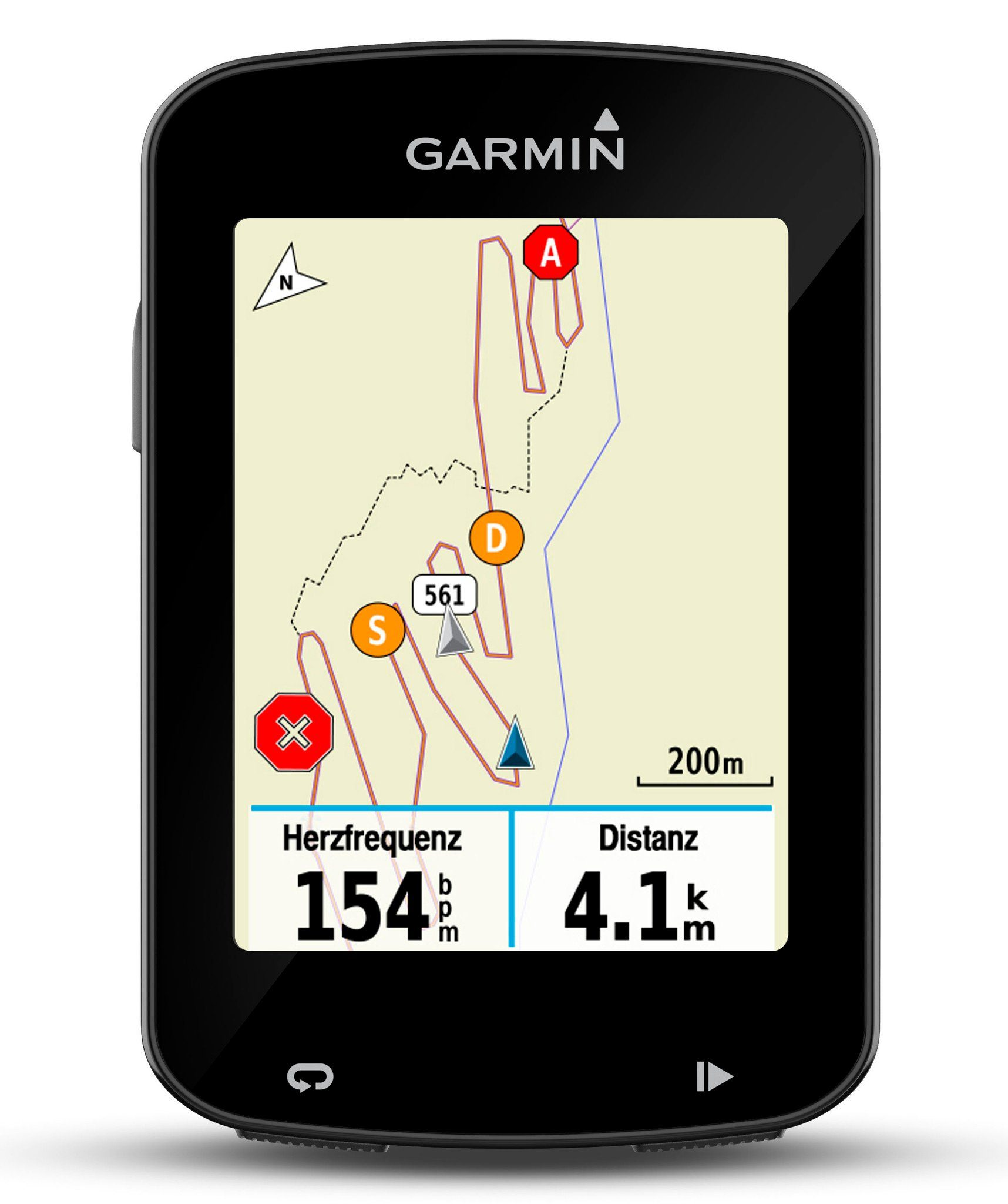 Garmin Navigationsgerät »Edge 820 GPS Fahrradcomputer inkl. Aero«