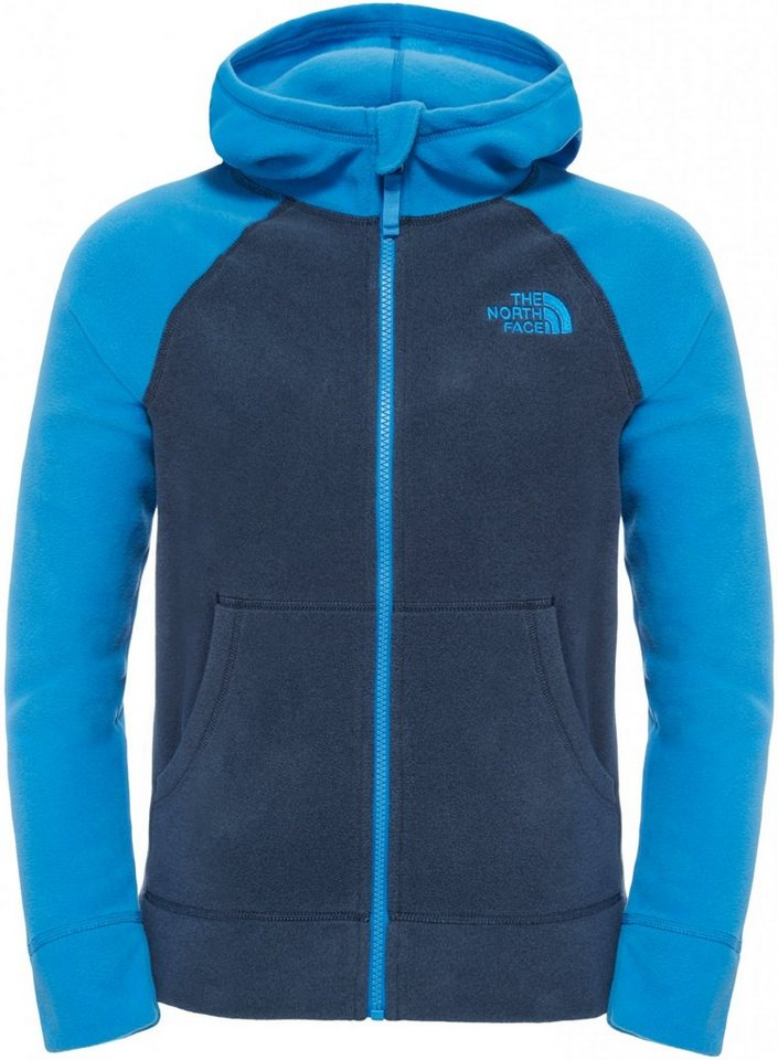 The North Face Pullover »Glacier Full Zip Hoodie Boys« in blau