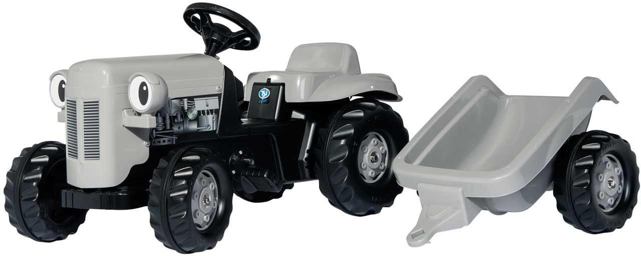 rolly® toys Trettraktor mit Anhänger, »rollyKid Little Grey Fergie«