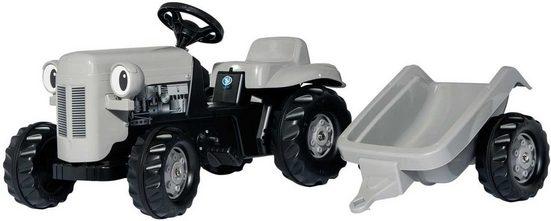 rolly toys® Trettraktor »rollyKid Little Grey Fergie«, mit Anhänger