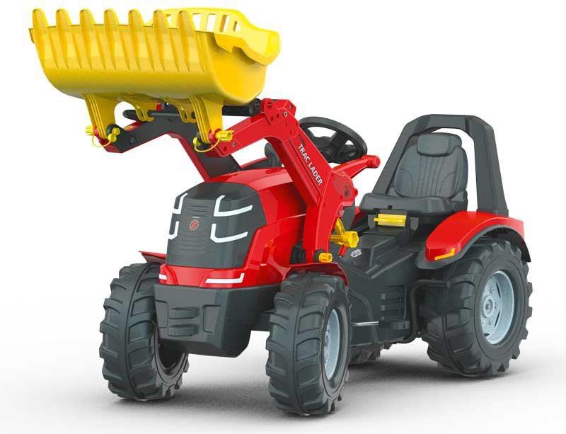 rolly® toys Trettraktor mit Zweigangschaltung und Handbremse, »rollyX Trac Premium« in rot