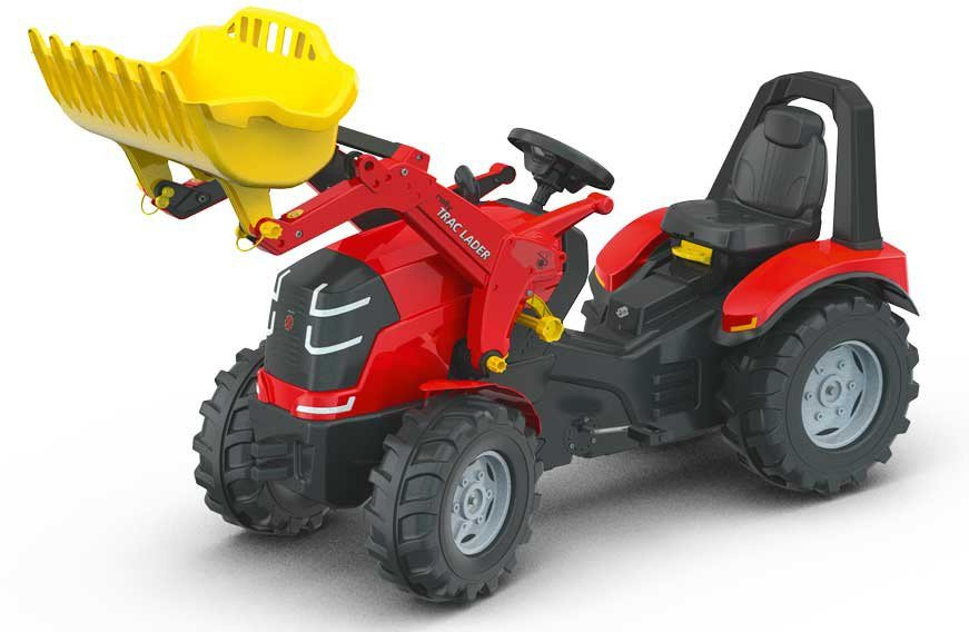 rolly® toys Trettraktor mit abnehmbarem Frontlader, »rollyX Trac Premium« in rot