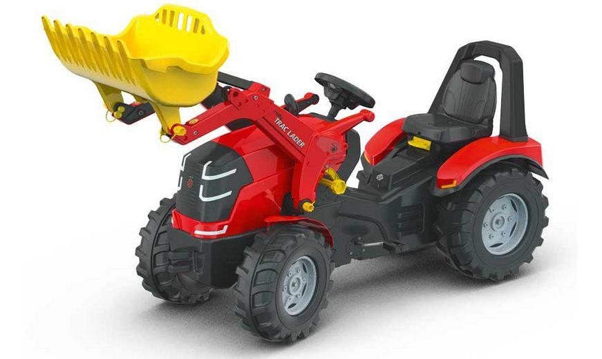 rolly® toys Trettraktor mit abnehmbarem Frontlader, »rollyX Trac Premium«